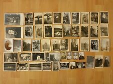 Konvolut alte Fotos: 50 x altes Foto meist Personen Mann Frau ...