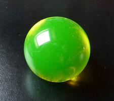 Sehr große und schwere 7,5 cm Uranglas Kugel Test für Geigerzähler Prüfstrahler
