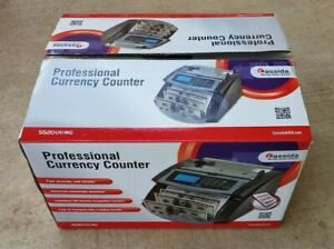 Cassida 5520 UV/MG Money Counter with Counterfeit Bill Detection Banking Vending