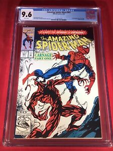 Amazing Spider-Man 361 🔑 CGC 9.6 NM+ White pages 1st full appearance of Carnage