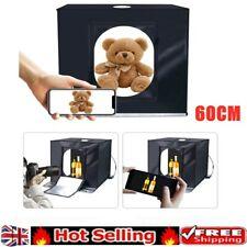 60*60*60CM Portable LED Photo Studio Lightbox Light Tent Photography Light Box