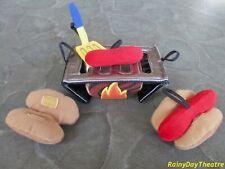 Build A Bear Cookout Set Grill Hotdogs Accessories Vintage