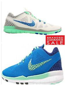BNIB New Women Nike Free 5.0 Fit 5 BREATHE Blue White 5 7uk RRP £90