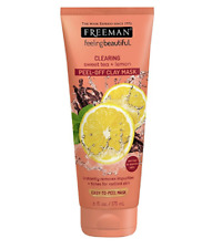 Freeman Feeling Beautiful Peel-Away Clay Mask, Sweet Tea - Lemon 6 oz