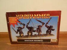 Warhammer Minotaur Regiment 2000 New