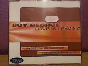 CD Boy George Love Is Leaving      (n.154)
