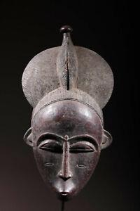 Maske Afrikanisch Maske Baule 1688