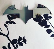 Batman Shape Acrylic Mirror Home Decor Nursery Kids Room Personalised Gift
