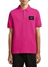 FRED PERRY ACID BRIGHTS POLO SHIRT. BNWT. COLOUR. MODERN PINK. SIZE.XL