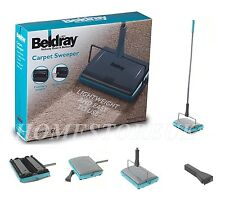 Beldray manuale TAPPETO Sweeper 3 Spazzola CORDLESS Hard Floor RUG CLEANER DUSTER 855