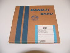 """Band-It Easy Scale Band 201 Stainless Steel Bright Annealed Finish 1/4"""" x 100'"""