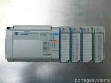 Allen Bradley Micrologix 1500 With Four Various Modules