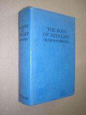 THE BOYS OF REDCLIFF. WALTER RHOADES. 1930 HARDBACK BOYS SCHOOL STORY