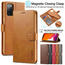 Fr Samsung S20 FE Note 20 Ultra S10 Plus Magnetic Flip Leather Wallet Case Cover
