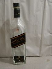 Johnnie Walker GREEN LABEL EMPTY Liquor Bottle 750 ML