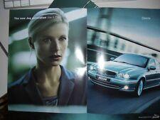 2001 JAGUAR X-TYPE Australian 8p Large Format Brochure Folder 2.5 & 3.0 V6 Sport