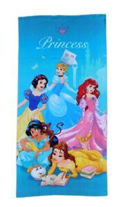 Official Disney Princess Girls Beach Towel 70 x 140 cm