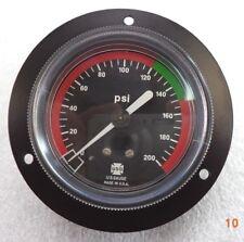 Ametek Red/Green 2-1/2 inch 1/8 ANPT CMB 0-200 psi Pressure Gauge,  p/n KM99900