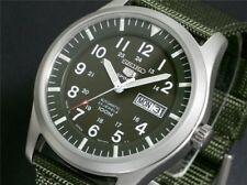 Reloj deportivo Seiko Hombres 5 Deportes automático de Japón SNZG 09J1, Garantía, Caja