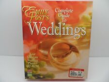 Emily Post's Complete Guide to Weddings Cd-Rom