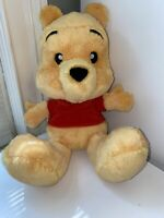 "Disney Parks Winnie the Pooh Big Feet Plush 12""- Preowned"