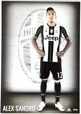 Cartoncino Juventus Stagione 2016/17 - Alex Sandro