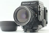 【MINT+++】 Mamiya RB67 Pro S Sekor c 50mm F4.5 Motorized Film Back From JAPAN 556