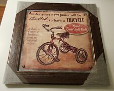 Home Accents 3D Tricycle Picture