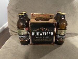 Budweiser Jim Beam 4 Pack Bottles Carrying Case RARE