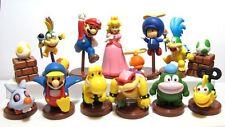 Super Mario Brothers / Super Mario Bros. Action Figure Toy Set of 13pcs yellow