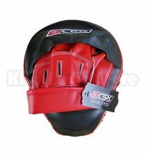 1x CSK Martial Arts Boxing MMA Thai Curved Punch Pad Punch Mitts Focus Mitts