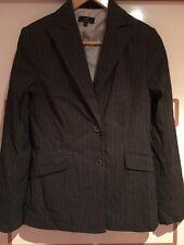 Cue Jacket - Size 10 - Cute Pin Stripe