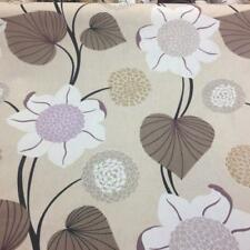 Delilah Vanilla Cotton Fabric by Prestigious Textiles