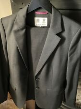 Austin Reed Womens Suit Jacket and Trousers, Black, Size 10