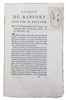 Hôtel Dieu de Paris 1791 Député de l'Yonne Bernard Révolution Française