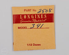 Longines Genuine Material Part #2508 Date Indicator Retention Ring for 341