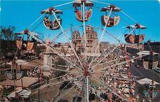 Guadalajara Jalisco Mecico~Yearly Fair~Ferris Wheel Close-Up~Midway~Shrine~1960s