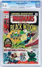 Amazing Adventures #4 (Jan 1971 Marvel) CGC 9.6 NM+ Inhumans Black Widow stories