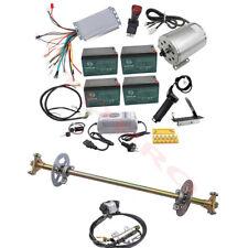 Drift Trike Go Kart Rear Axle Kit  48v 1800w Electric Brushless Motor Controller