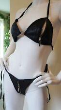 Capi d'abbigliamento erotico nero in pelle