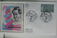 ENVELOPPE PREMIER JOUR SOIE 1987 BERNARD HALPERN