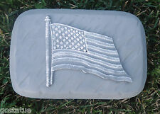 Flag rain brick plastic mold concrete plaster wax resin mould