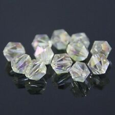 "12 Pcs Swaro-element  6mm split facet Crystal beads A "" Crystal yellow"""