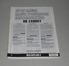 Montageanleitung Suzuki DR Z 400 SY Stand 01/2000