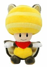 New Super Mario Musasabi Yellow Toad / Squirrel Soft Plush Doll Toy by Sanei!