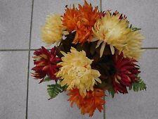 künstliche Blumen  pflanzen  blumen  Grabgesteck  Astern mix