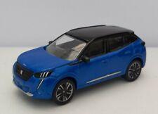 Norev 3 inches1/64 .multigam Nouveau  Peugeot 2008 Bleu . Neuf en boite Norev