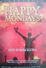 HAPPY MONDAYS - Live In Barcelona (DVD) . FREE UK P+P .........................