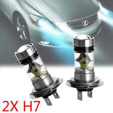 2x H7 100W LED AUTO Scheinwerfer Kit KFZ Birnen Leuchte Lampen