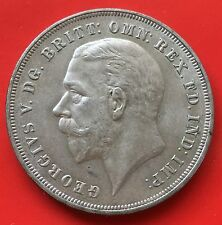 GB one crown Commemorative Silver Jubilee  King George V silver 1935 aunc